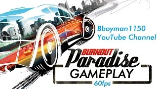 Burnout Paradise - The Ultimate Box gameplay 60fps