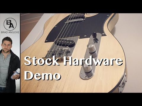 Kit Guitar From Solo Music Gear | Stock Hardware Demo