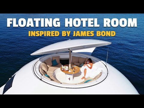 The Bond-Inspired Floating Eco-Hotel Room