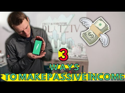 MAKE PASSIVE INCOME ON ROBINHOOD IN 2020 - Guide To Making Money Passively (Beginners Guide)