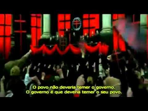 V de Vingança - Trailer Legendado 2006 [HD]