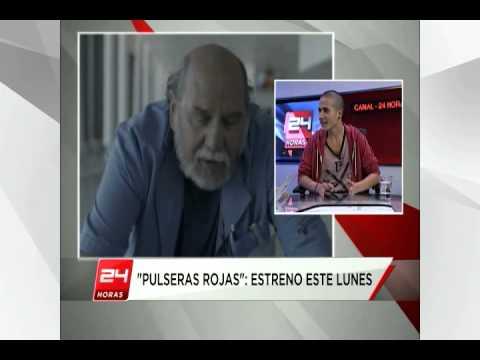 Entrevista de @christianpino con @lucassaezc protagonista de la serie @TVN  PulserasRojas