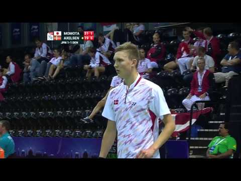 THOMAS AND UBER CUP FINALS 2014 Session 12, Match 3