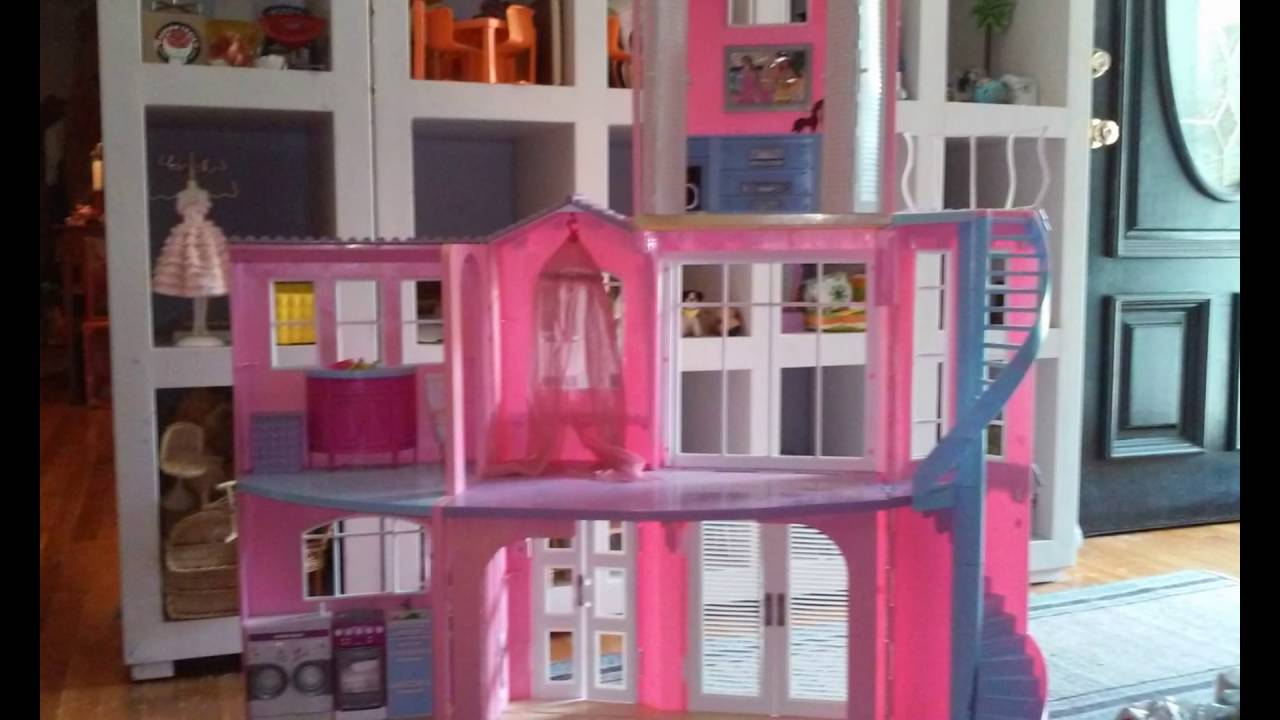 99d98c68409 Mattel Barbie 3 Story Dream House Playset - Architectural Designs