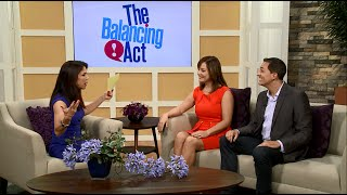 Yoli on Lifetime TVs The Balancing Act with Robby Fender and Jen Furness