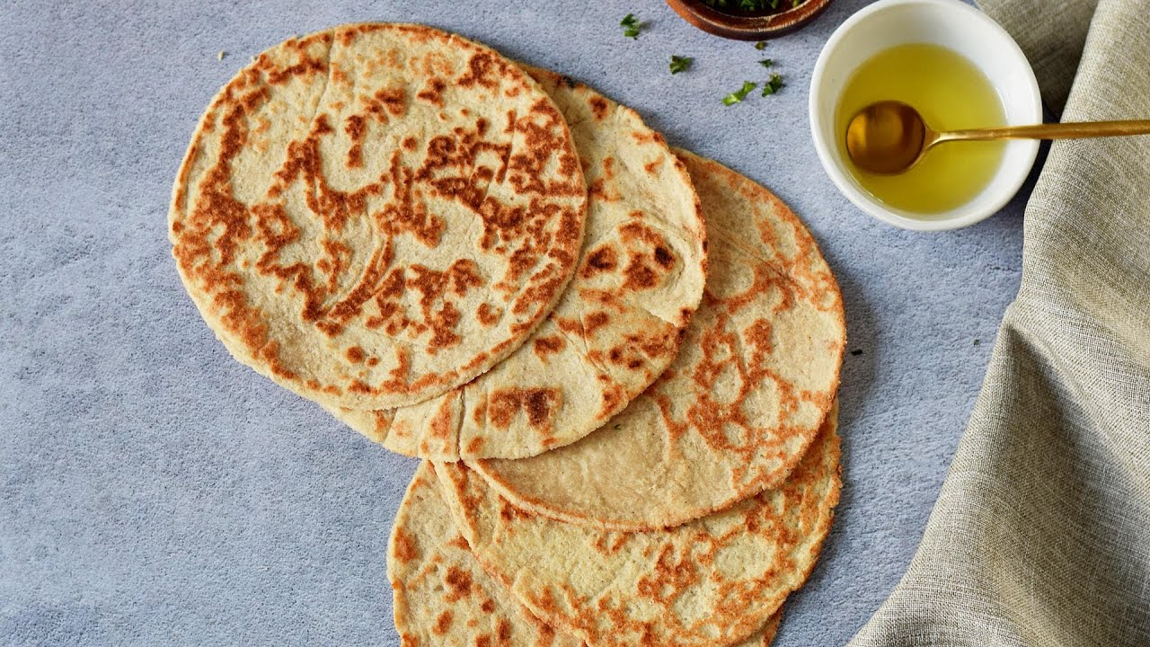 Keto Tortillas with Almond Flour (Low-Carb, Vegan)