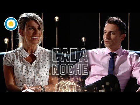 Sandra Arroyo Salgado en Cada Noche