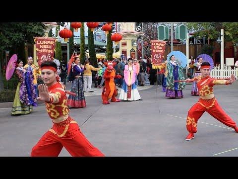 Mulan's Lunar New Year Procession Show 2017 at Disney California Adventure, Disneyland Resort