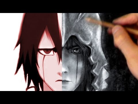 Anime to Realism Drawing! - Ulquiorra Bleach Portrait