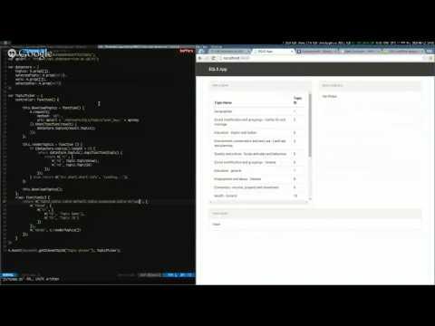 Tutorial 7: Build an #EULife Javascript App