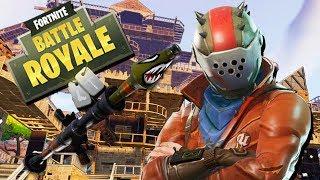 Fortnite Battle Royale Gameplay English - The Rarest Skin