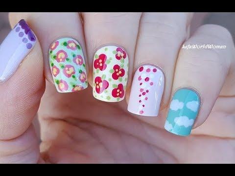 5 easy nail art design