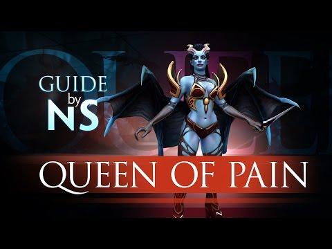 видео: Гайд на queen of pain / queen of pain guide