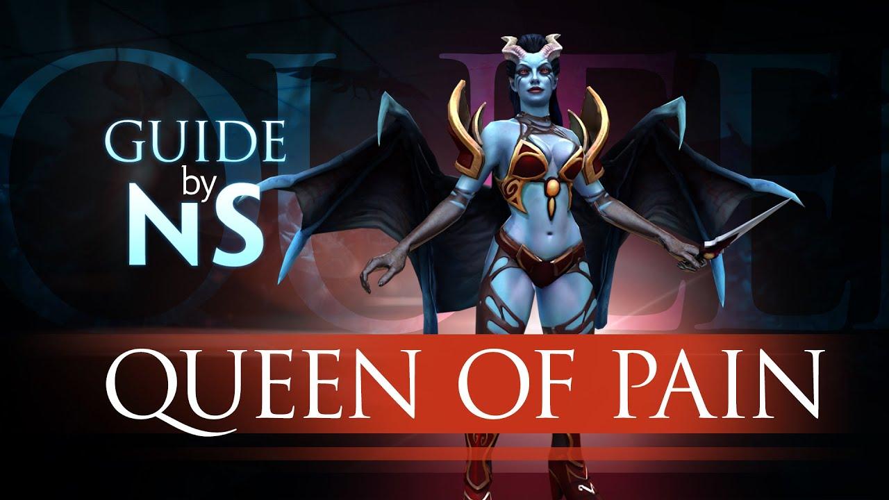English In Italian: Гайд на Queen Of Pain / Queen Of Pain Guide