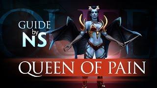 Гайд на Queen of Pain / Queen of Pain Guide