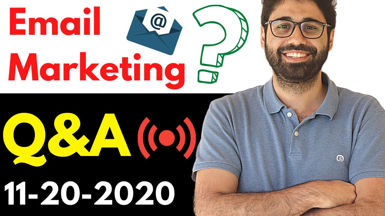 Download Email Marketing Open Live Q&A (11-20-2020)