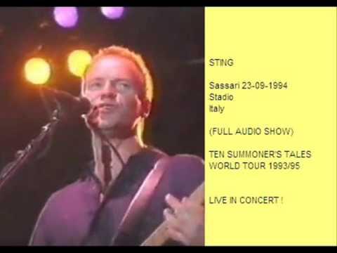 """sting---sassari-23-09-1994-""""stadio-acquedotto""""-italy-(full-show-audio)"""
