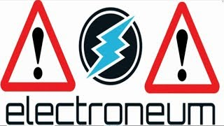 WARNING Electroneum MUST WATCH! IMPORTANT ETN Altcoin/Cryptocurrency Update