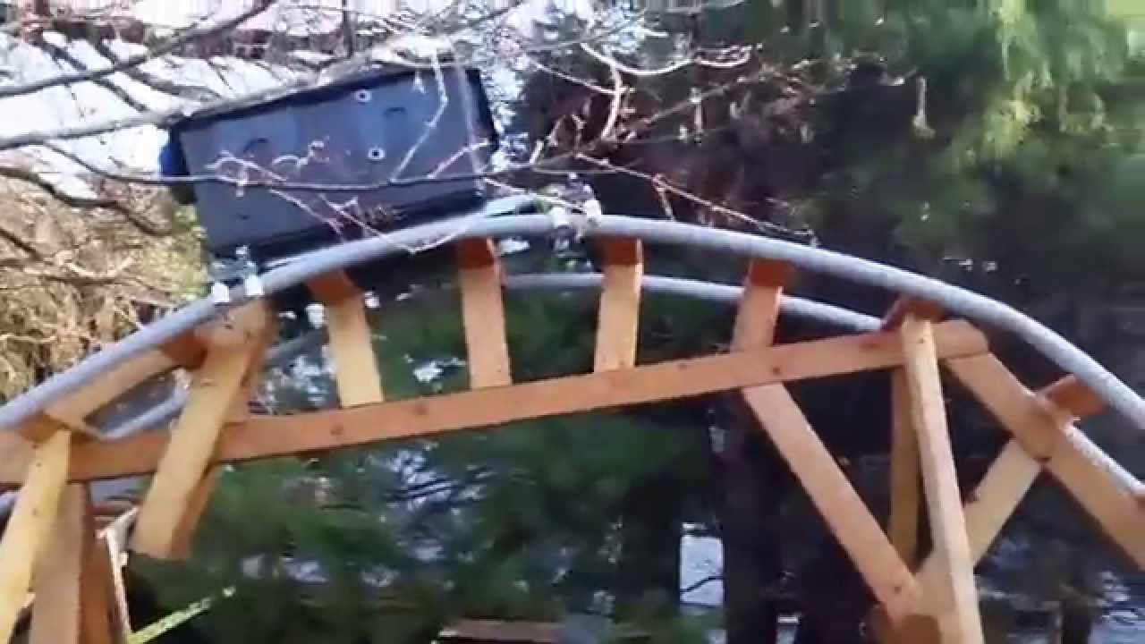the mcgregor backyard roller coaster company is born youtube