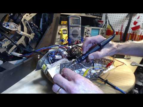 PYE Columbia Stereo 360 Video #14 - Transistor Voltages