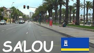 Salou - Por las Calles de Salou , Tarragona ,  Catalunya / Streets of Salou , Spain.