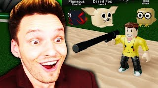 NO OPPONENT SURVIVES EVEN A SHOT OF ME !! (Roblox)