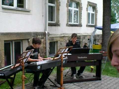 Keyboardgruppe Musikschule  MTK Bannewitz.AVI