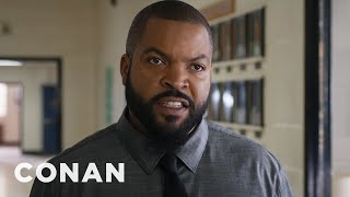 """Ice Cube Debuts The """"Fist Fight"""" Trailer  - CONAN on TBS"""