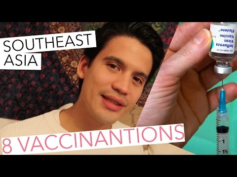 8 Vaccinations for South East Asia!