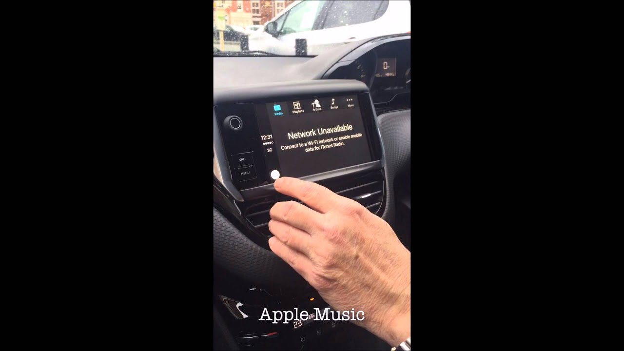 New Peugeot 208 with Apple CarPlay