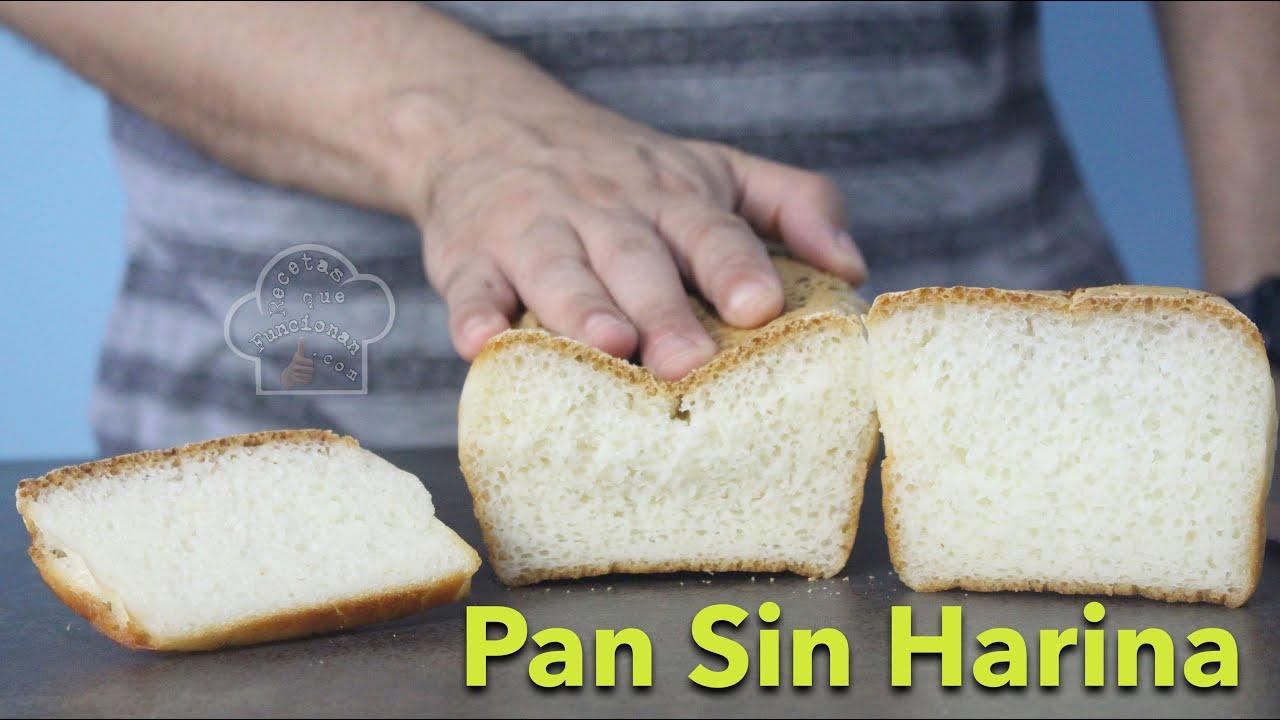 """Pan SIN harinas """"solo 1 ingrediente principal"""""""