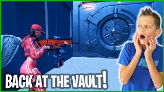 WE ARE BACK AT THE VAULT!!!