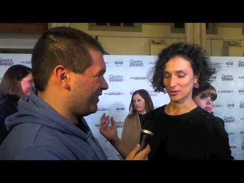 Game of Thrones UK Premiere - Indira Varma interview