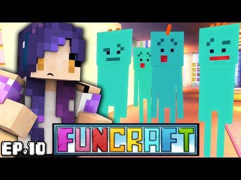 Mr Meeseeks from Rick & Morty in Minecraft?!  | FunCraft Ep. 10
