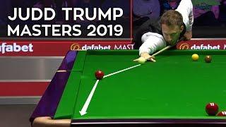 Judd Trump Super Shots Compilation   Snooker Masters 2019