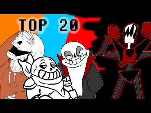 Top 20 Undertale UNDERSWAP and UNDERFELL Animated Shorts