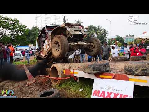 thar accident mahindra club challenge