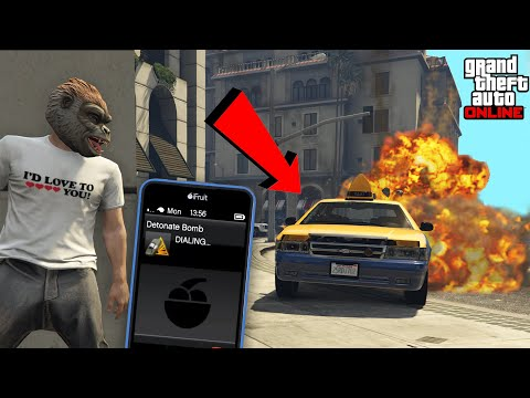 I Started a FAKE TAXI Service in GTA Online...
