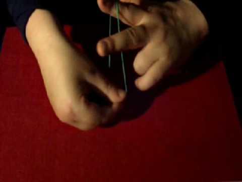 zaubertrick gummiband