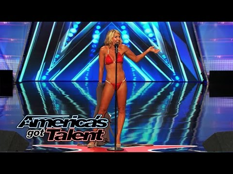Maggie Lane: Opera Singer Strips Down and Sings in a Bikini - America's Got Talent 2014 from YouTube · Duration:  2 minutes 8 seconds