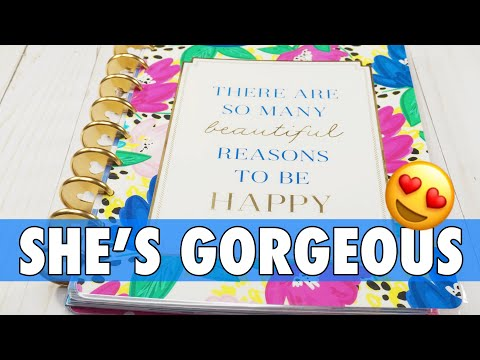 NEW RELEASE HAPPY PLANNER GIRL SOCIALITE FLIP THROUGH | 2019 MAMBI CLASSIC HAPPY PLANNER