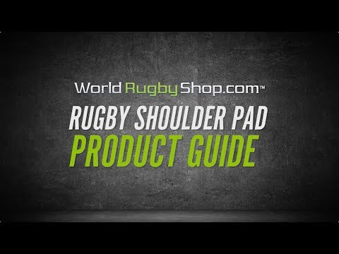 WORLDRUGBYSHOP.COM - Rugby Shoulder Pad Product Guide