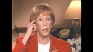 Carol Burnett discusses Lucille Ball - EMMYTVLEGENDS.ORG
