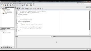 Program Array dengan Java Netbeans