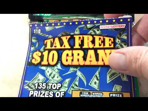 *WIN* Tax Free 10 Grand and Fatter Wallet $10 Hoosier Lottery Which one hit's ??