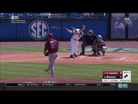 HIGHLIGHTS: Baseball Defeats Missouri 10-2 (5/25/17)