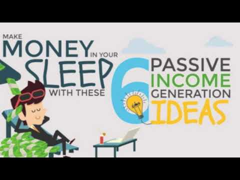 Passive Income Ideas 2019 - Make Money in Your Sleep!