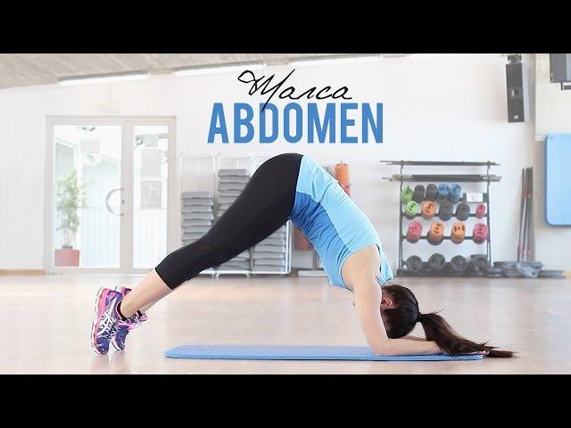 Ejercicios para marcar abdomen en 8 minutos