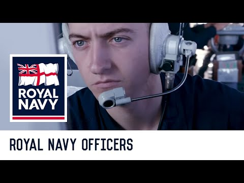 Royal Navy Officers: Life as an officer