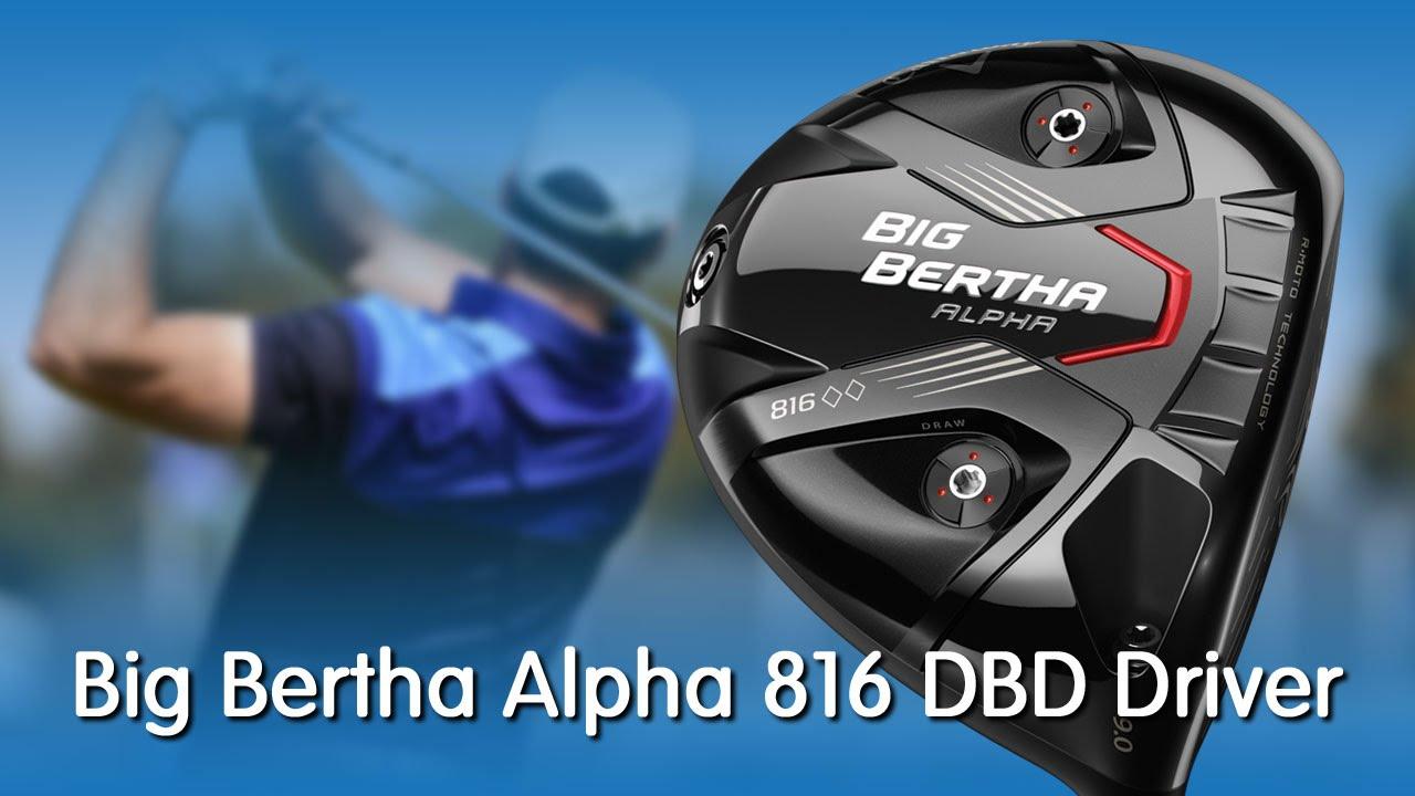 Callaway Big Bertha Alpha 816 Double Black Diamond Driver